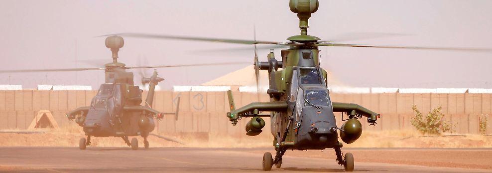 Zunächst galt eine maximale Temperaturobergrenze von 43,26 Grad Celsius für den Start der Hubschrauber. Diese wurde jedoch für den Einsatz in Mali um fünf Grad angehoben.