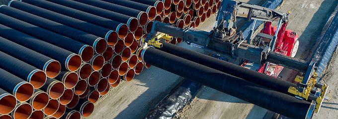 Umstrittene Gaspipeline: Nord Stream 2 erhält Teilgenehmigung