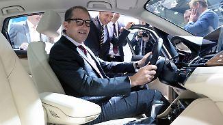Schwamm drüber: Die Politik will den Autobauern vertrauen