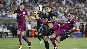 ManCity spektakelt gegen Real Madrid: Peps Citizens schießen Zidanes Königliche ab