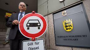 Stuttgart drohen Diesel-Fahrverbote: Gericht bestätigt Klage der Deutschen Umwelthilfe