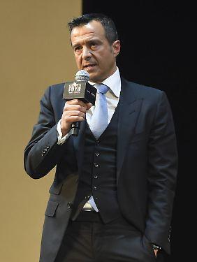 Jorge Mendes: Berater von CR7 - und vielen anderen.