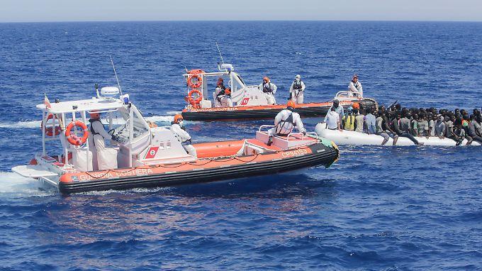 Libyens Grenzschützer erhalten weitere Mittel von der EU.