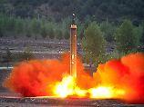 Der Raketenstart (hier ein Archivbild) war seit einigen Tagen erwartet worden.