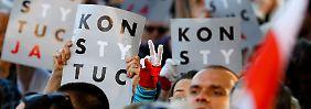 Polen baut den Rechtsstaat ab: EU leitet Vertragsverletzungsverfahren ein