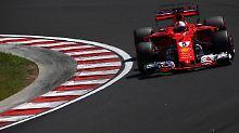 """""""Auto war einfach großartig"""": Vettel holt Ungarn-Pole, Hamilton patzt"""