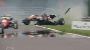 Formel-3-Europameisterschaft in Spa: Günther behauptet Gesamtführung trotz spektakulären Crashs