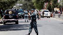 Angriff auf irakische Botschaft: Erneuter Selbstmordanschlag in Kabul