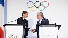 Olympische Spiele 2024 und 2028: Los Angeles lässt Paris den Vortritt