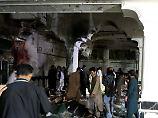 Terroranschlag in Afghanistan: Mindestens 29 Menschen sterben in Moschee