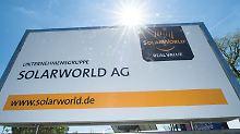 Nach Angebot aus Niederlanden: Solarworld-Aktien erholen sich von Schock
