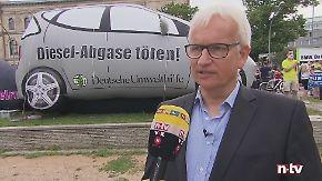 """Jürgen Resch zum Dieselgipfel: """"Das ist ein Marionettentheater"""""""