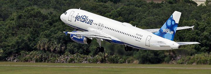 Partnerschaft mit US-Billigflieger?: JetBlue könnte Air Berlins Rettung sein