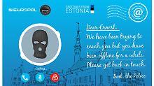 """""""Du fehlst uns"""": Europol verschickt Postkarten an Kriminelle"""