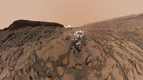 Vor fünf Jahren von Kiel auf den Mars: Curiosity-Mission liefert spektakuläre Bilder und Daten
