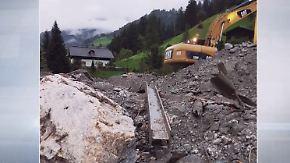 Unwetterchaos in Österreich: Schlammmassen verwüsten Urlaubsgebiet