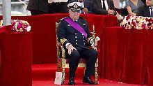 Kein großer Fan des Protokolls: Prinz Laurent von Belgien.