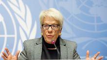 """""""Alle in Syrien sind böse"""": UN-Ermittlerin zu Syrien wirft hin"""