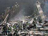 In den Trümmern der Türme wurden viele Opfer bis zur Unkenntlichkeit zermalmt.