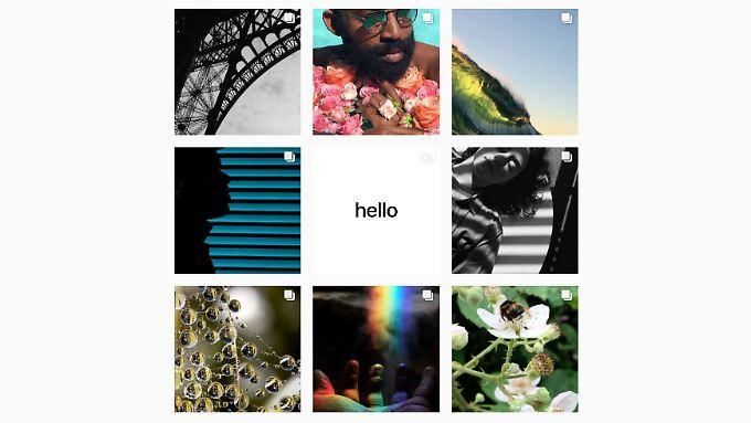 """Apple erweitert seine """"Fotografiert mit dem iPhone""""-Kampagne um einen eigenen Instagram-Account."""