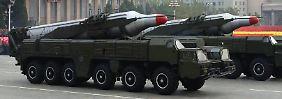 """""""Jederzeit"""" möglich: Nordkorea droht USA mit """"totalem Krieg"""""""