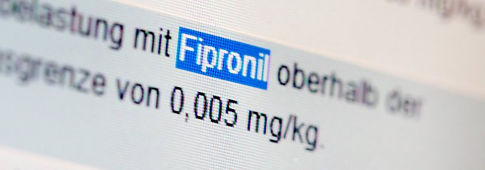 Zur Bekämpfung von Ungeziefer soll Fipronil weiter verkauft werden.