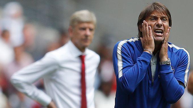 Antonio Conte geht mit dem FC Chelsea als Titelverteidiger in die Saison.