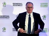 """""""Wir müssen auch die nächste Generation an der Spitze vorbereiten"""": Karl-Heinz Rummenigge."""