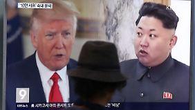Krise zwischen USA und Nordkorea: Deutschland kann nur machtlos zuschauen