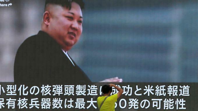 Sollte Kim Jong Un einen Erstschlag gegen die USA führen, stünde China nicht hinter ihm, schreibt ein chinesisches Staatsmedium.