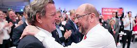 Schulz im Wahlkampf: Die Vergangenheit ist lästig für die SPD