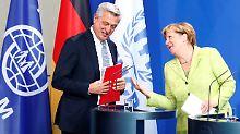 Bis zu 50 Millionen Euro: Merkel verspricht mehr Geld für Flüchtlinge