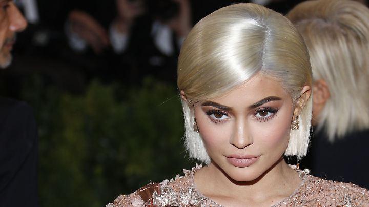 Sie weiß, wie sie ihre Fans glücklich macht: Kylie Jenner.