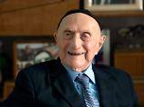 Ältester Mann der Welt: Israel Kristal stirbt mit 113 Jahren