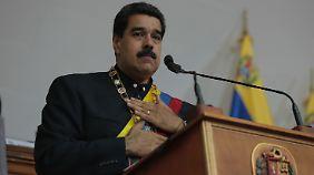 Verwandelt Venezuela in eine Diktatur: Präsident Maduro