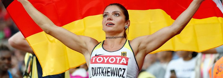 Seht her: Pamela Dutkiewicz.