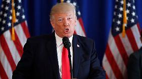 Nordkoreas Truppen demonstrieren Stärke: Trump poltert weiter gegen Kim Jong Un