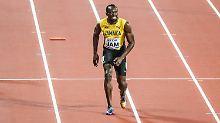 Das war's: Usain Bolt.