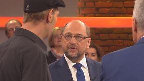 Innere Sicherheit und Flüchtlingsfrage: Martin Schulz lädt zur Bürgersprechstunde