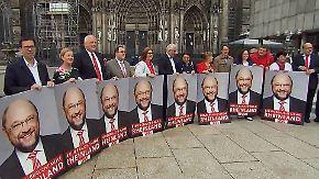 Unterschätzt die CDU Martin Schulz?: SPD baut im Wahlkampf Druck auf