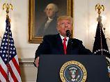 """""""Rassismus ist böse"""": Trump distanziert sich von rechten Gruppen"""