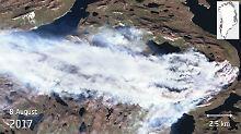 Nach tagelangem Kampf: Feuerwehr löscht Torfbrände in Grönland