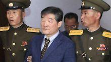 Drei US-Amerikaner in Haft: Nordkorea will über Gefangene reden