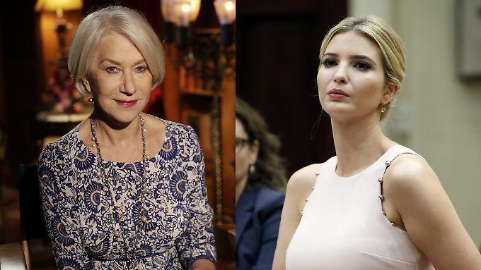 Helen Mirren (l.) und Ivanka Trump: zwei Feministinnen - oder etwa doch nicht?