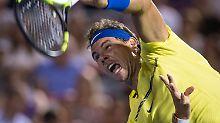 Rückkehr auf den Tennis-Thron: Nimmermüder Nadal wird kampflos belohnt