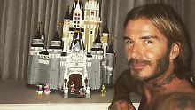 Becks, der Baumeister: David Beckham errichtet ein Schloss
