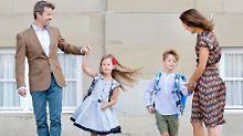 Dänische Mini-Royals eingeschult: Zwillinge kommen in getrennte Klassen