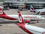 """Air Berlin soll """"im Kern"""" zerschlagen werden."""