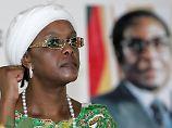 Simbabwes First Lady rastet aus: Grace Mugabe verprügelt Model mit Kabel