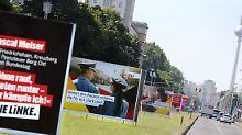 Misslungene Plakat-Kampagnen: Wahlkampf mit Axt und Schlüpfern